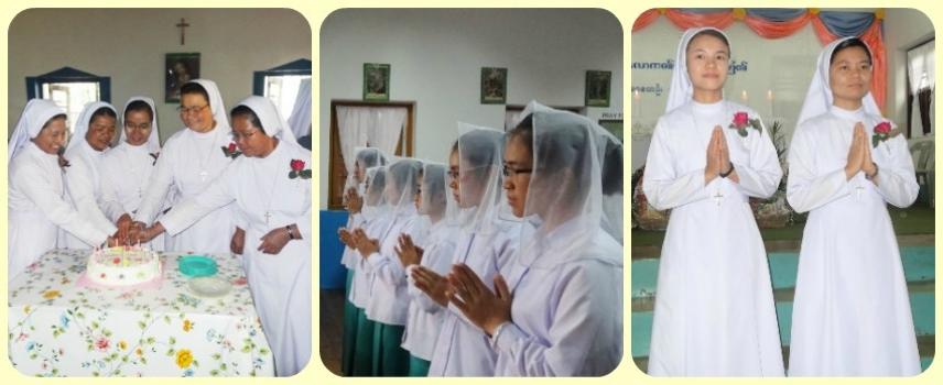 Journées de joie en Myanmar