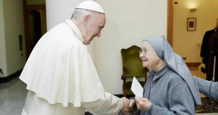 A tu per tu con Papa Francesco