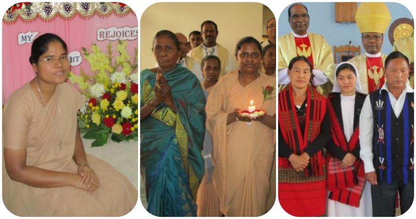 Da INDIA: três dons à Igreja