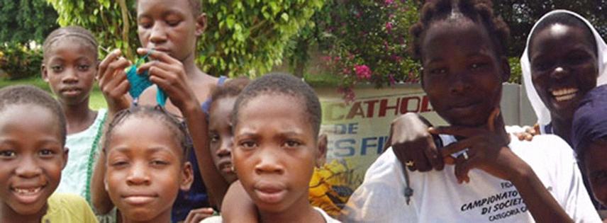 Comunità di BOUAKÉ - Reintegrazione familiare - Catechesi