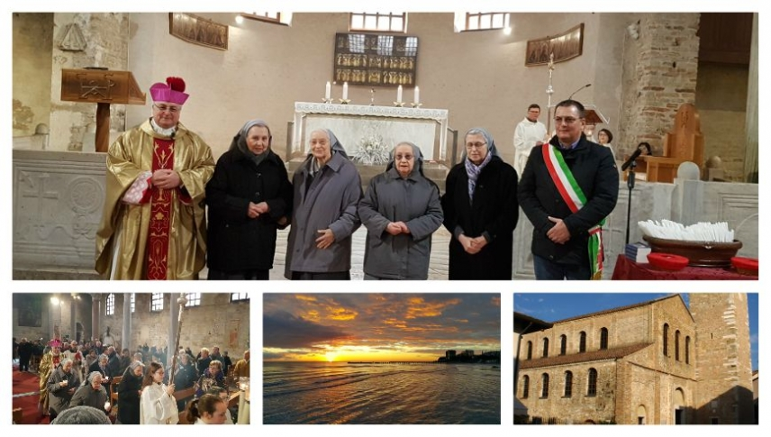 The 'gratefulness' of the people of Grado to the Sisters of Providence